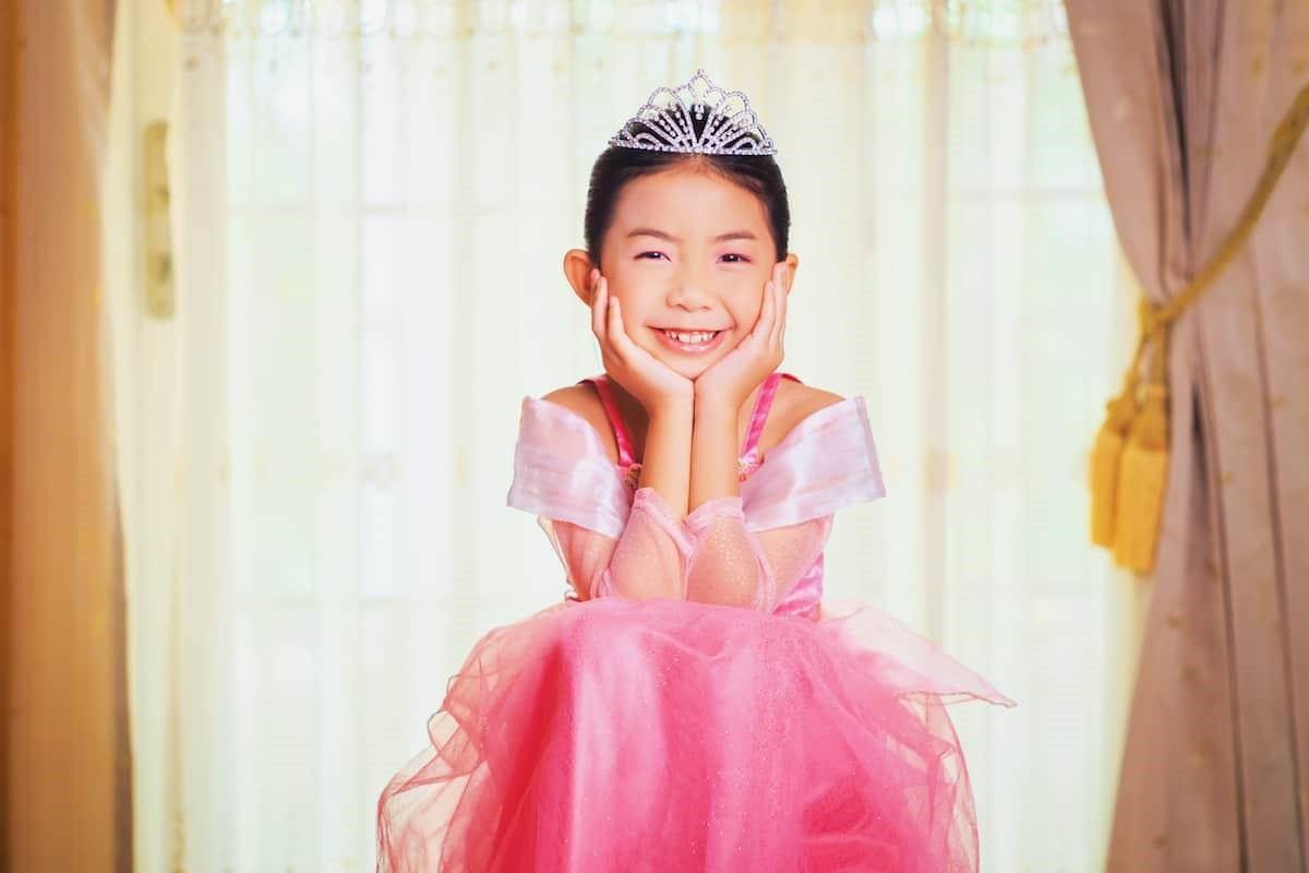 fille princesse costume